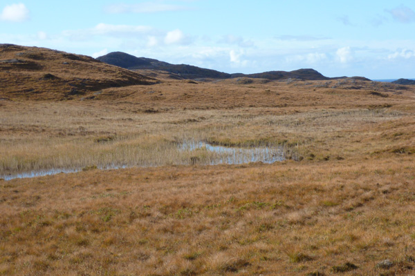 Lochan Dubh on the Ardnamurchan peninsula