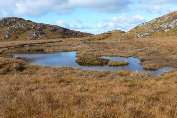 A second small lochan on the Ardnamurchan peninsula