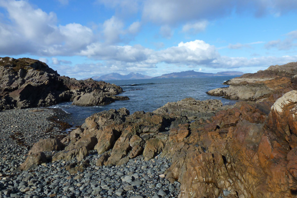 Port Eigin-aig on the Ardnamurchan peninsula