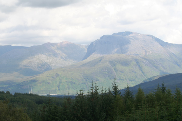 View to Fort William from Fassfern