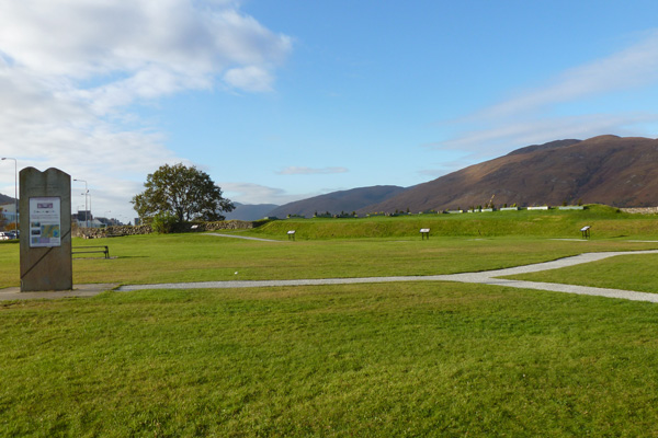 Site of the Old Fort, Fortwilliam