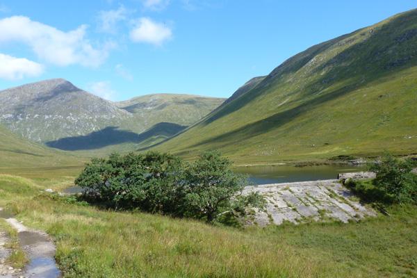 Galmadale Dam in Glen Galmadale