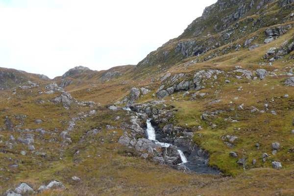 One of the Waterfalls on Route