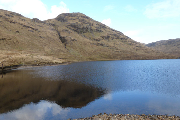 The Lochan in Glen Forslan