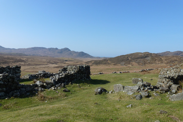 The deserted village of Glendrian
