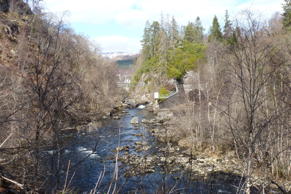 The Hydroelectricity Scheme from Ciste Dubh Trail