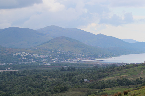 Views towards Fort William and Loch Linnhe