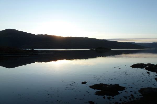 Loch Sunart from the Garbh Eilean wildlife hide