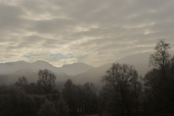 Views to the Nevis Range