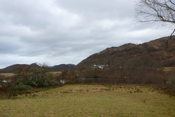 The River Shiel seen from the Shielfoot road