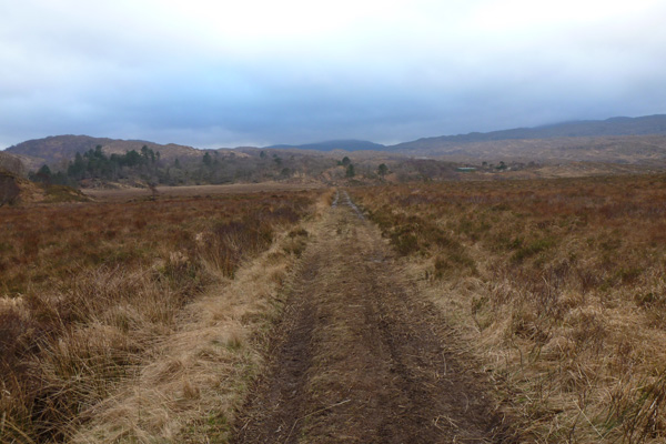 The track from Acharacle to Arivegaig