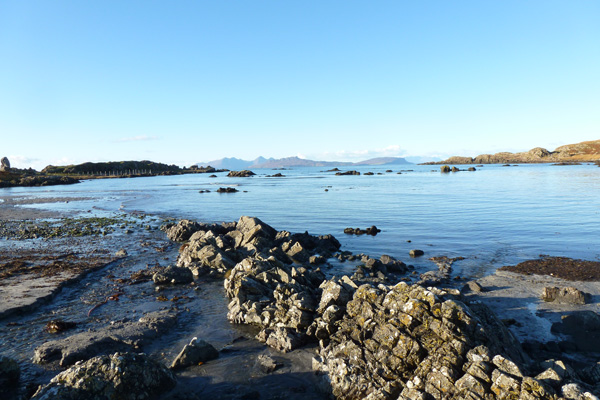 Kilmory Beach on the Ardnamurchan peninsula
