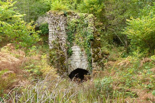 A derelict lime kiln