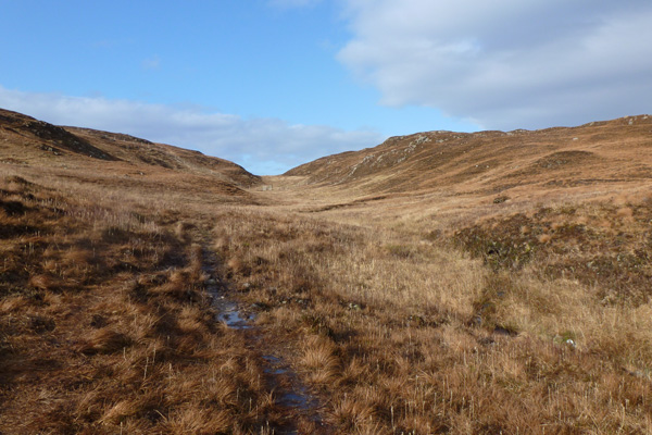 The walk can be boggy at times