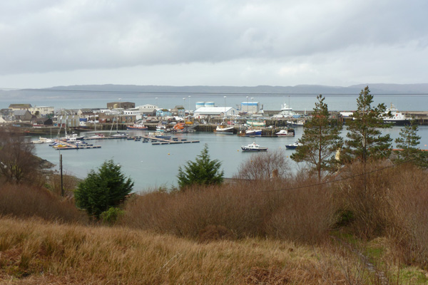 The fishing port of Mallaig