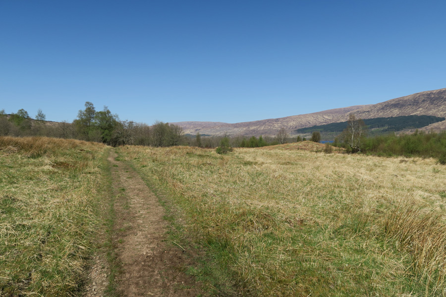 The path to Invermallie Bothy