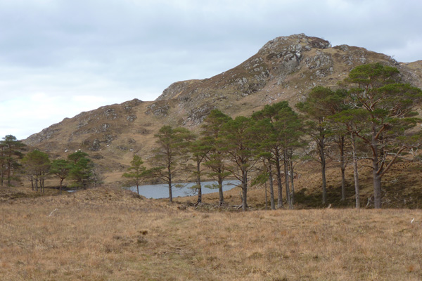 The first view of Loch a Bhada Dharaich