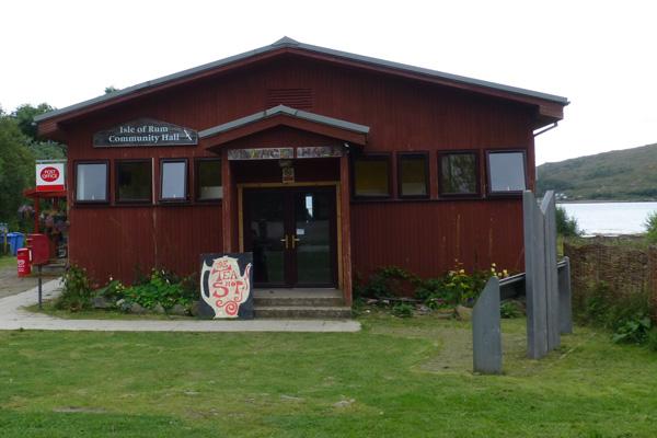 The Community Hall, Isle of Rum