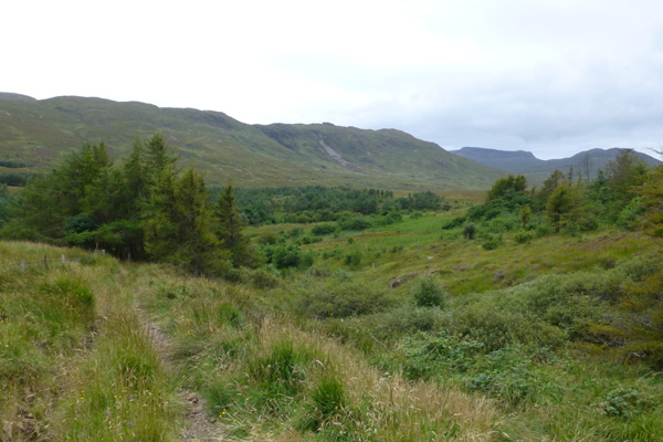 Some fine views of the Kinloch Glen