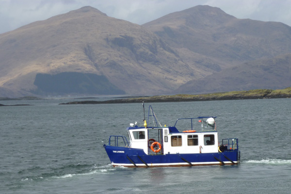 Passenger ferry to Lismore from Port Appin