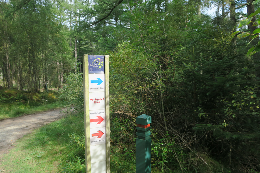 The River Lundy Trail is also popular with cyclists