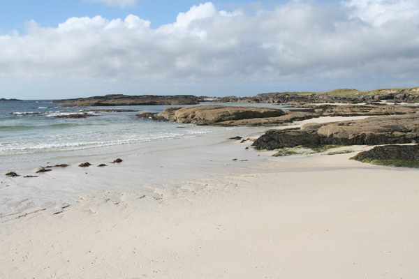 The beach at Sanna