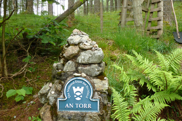 An Torr managed by the National Trust for Scotland