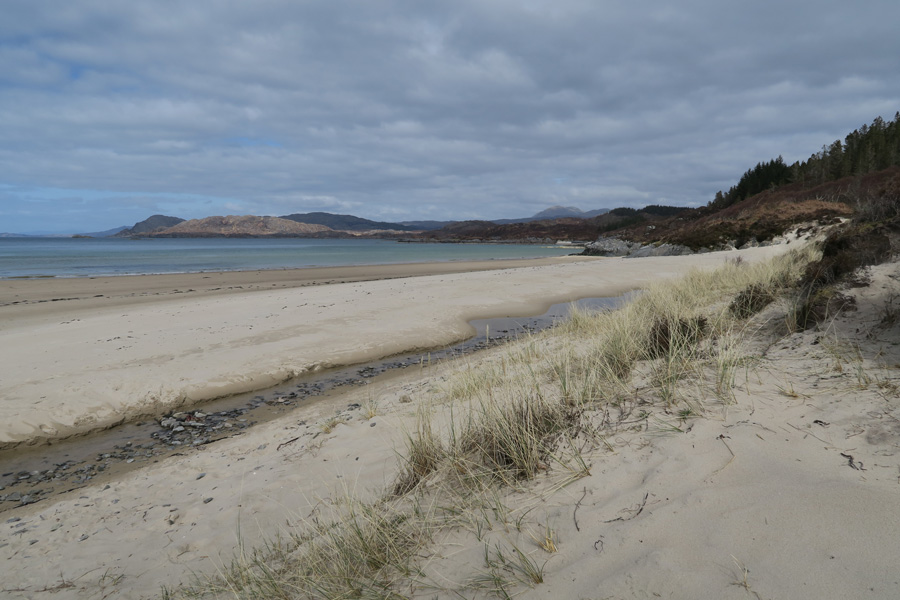 The Singing Sands at Gortenfern
