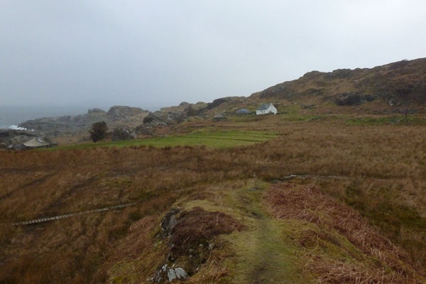 The village of Smirisary, Moidart