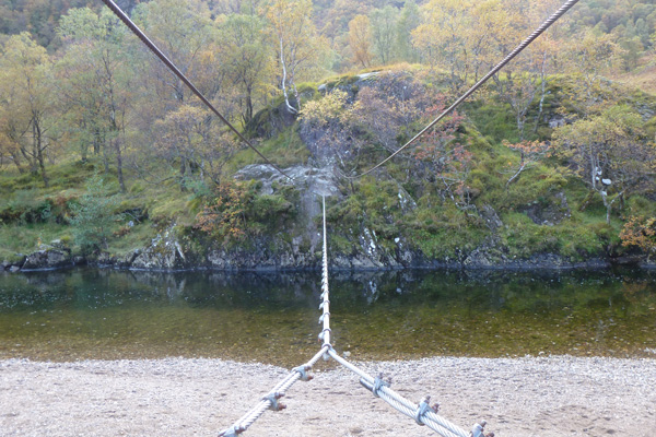 The infamous wire bridge