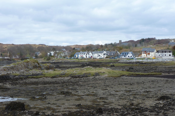 The village of Arisaig