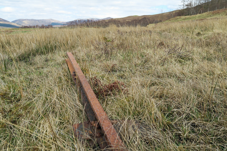 Some relics of the old railway