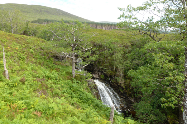 One of the waterfalls on Allt Mhuic