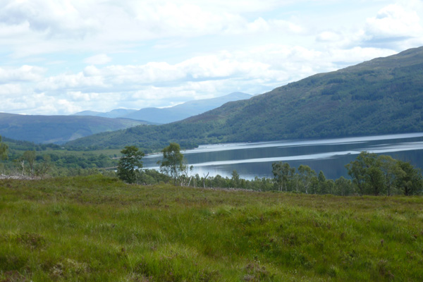 Fine views over Loch Arkaig