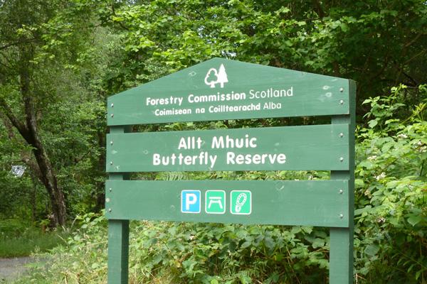 Allt Mhuic butterfly reserve
