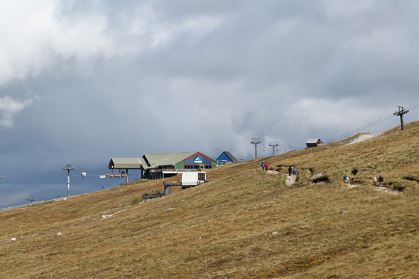 The Top Station at 650 metres