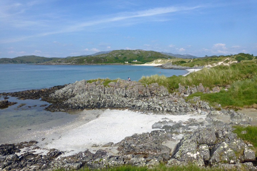 Camusdarach Beach - also known as Ben's Beach in the film Local Hero
