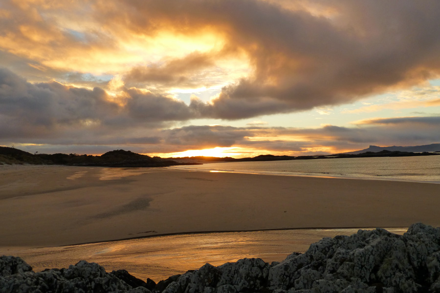 Sunset at Camusdarach