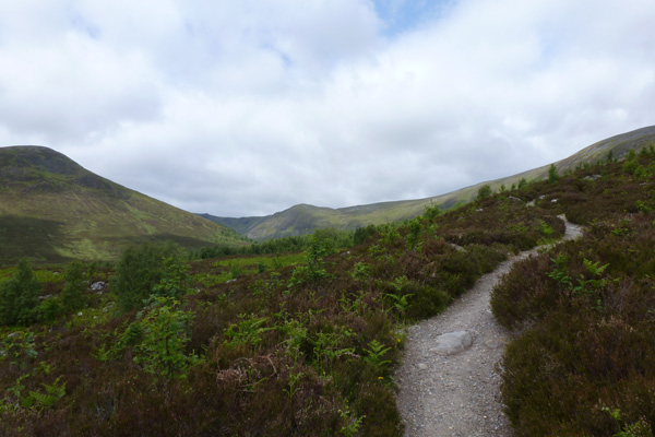 Walking to Coire Ardair in Creag Meagaidh National Nature Reserve
