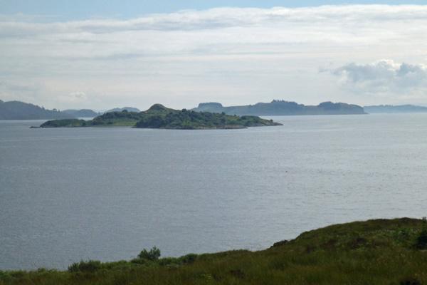 Looking across Loch Linnhe to Eilean Balnagowan