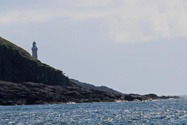 Views of Ardnamurchan Lighthouse from Sanna Bay