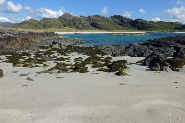 Silver sands of Sanna Bay