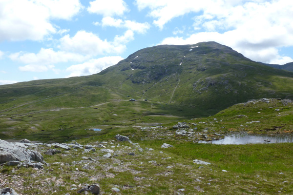 View towards Meall a Bhuridh