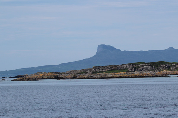 Cruising to Eigg from Arisaig