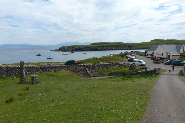 Galmisdale ferry terminal on Eigg