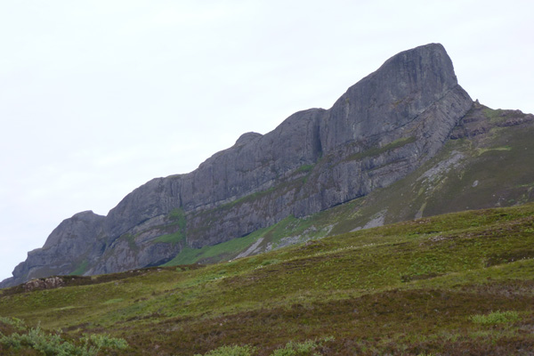 An Sgurr, the prominent feature of Eigg
