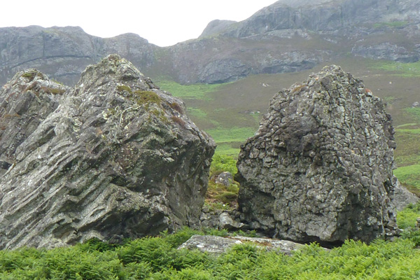 Interesting boulders