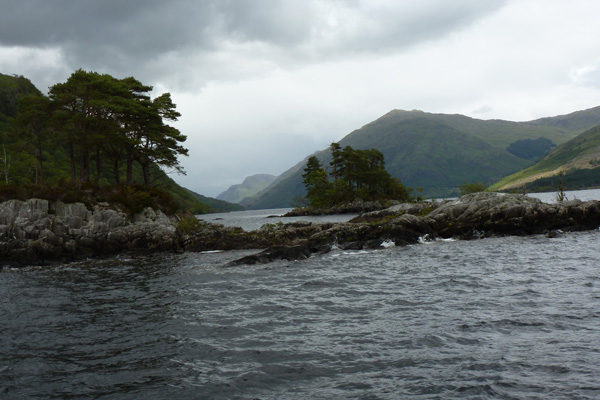 Looking North up Loch Shiel from Gaskan