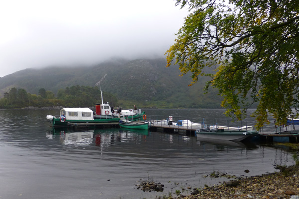 The MV Sileas at Glenfinnan