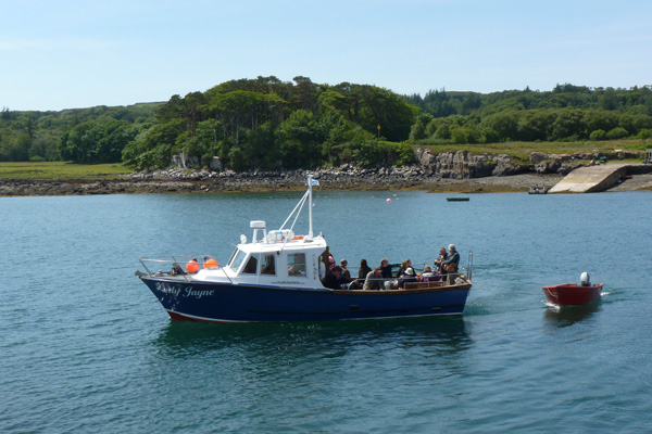 The Lady Jayne - Mull Charters boat